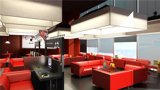 Дизайн интерьера проект кафе
